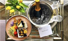 Gorgeous VIP welcome amenities