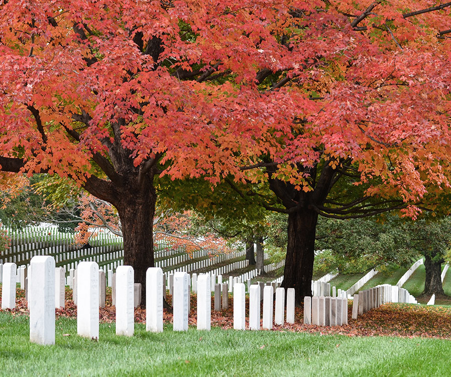 Arlington National Cemetery in Washington, District of Columbia