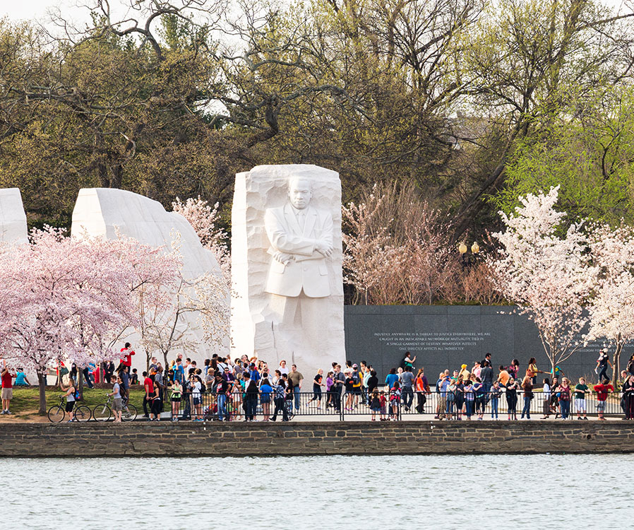 Martin Luther King Jr Memorial in Washington, District of Columbia