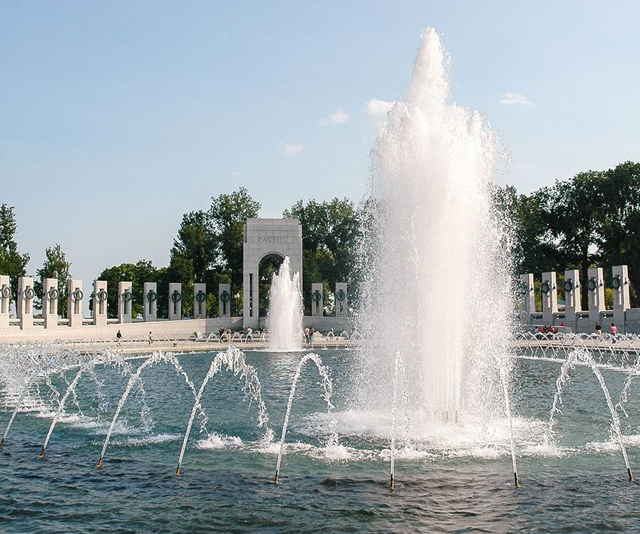 National World War II Memorial in Washington, District of Columbia