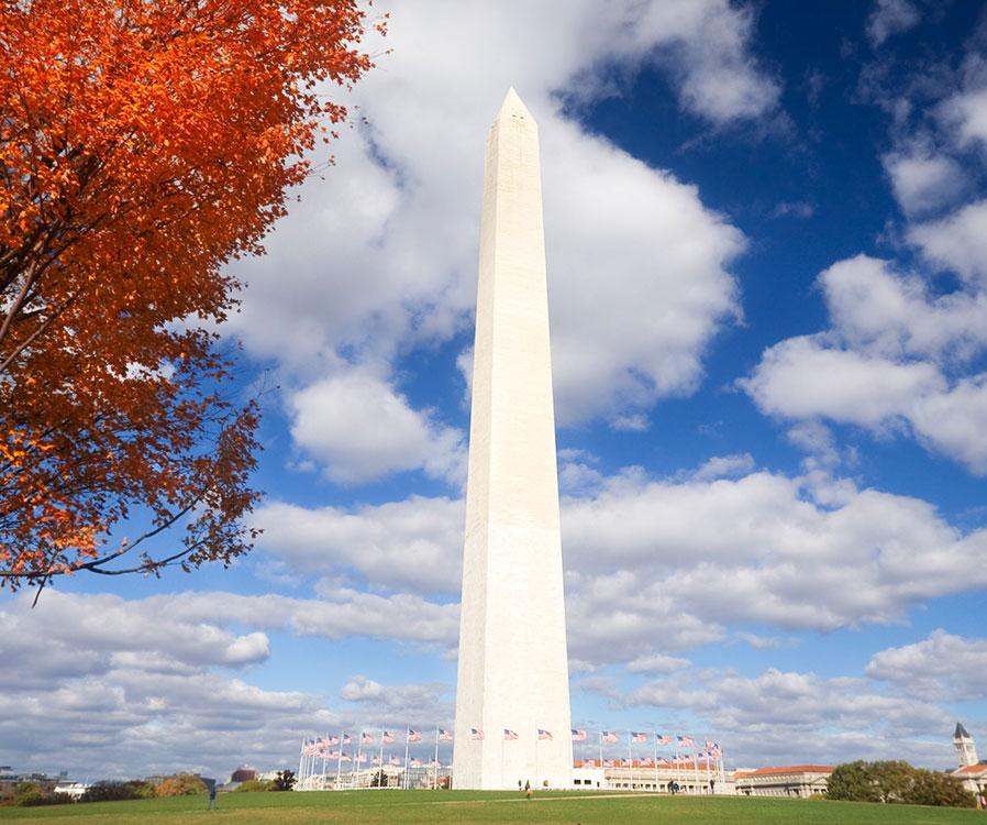 The Washington Monument in Washington, District of Columbia