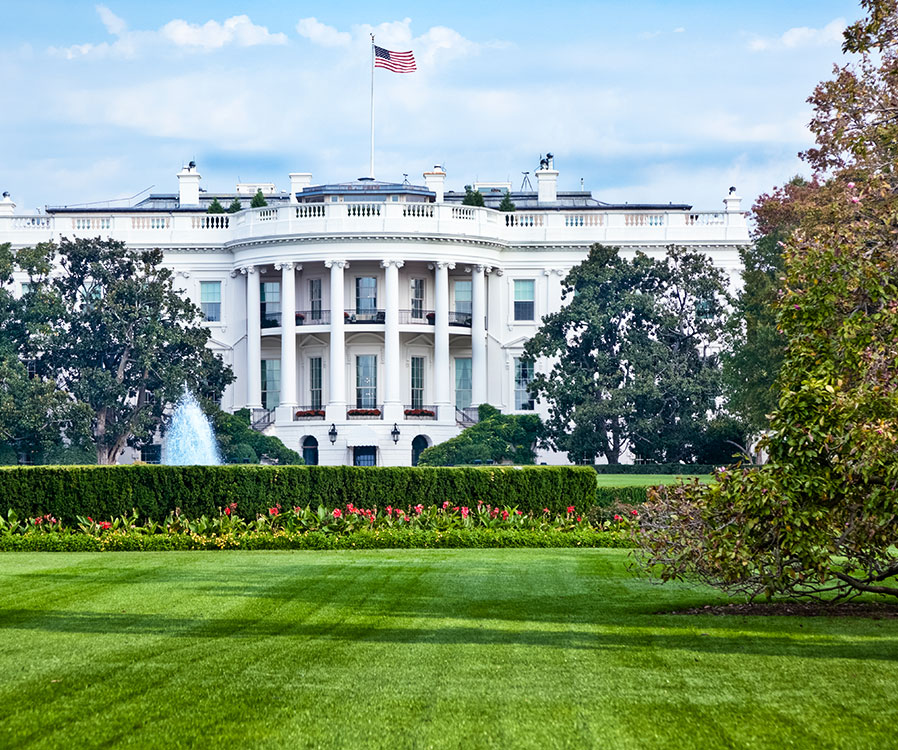 The White House in Washington, District of Columbia