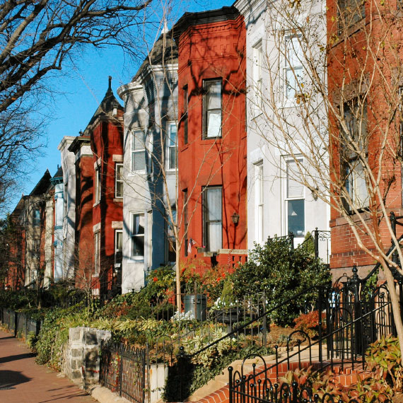Embassy Row in Washington, District of Columbia