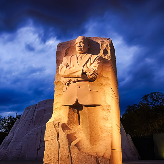 Monuments Mlk Memorial at Washington, District of Columbia