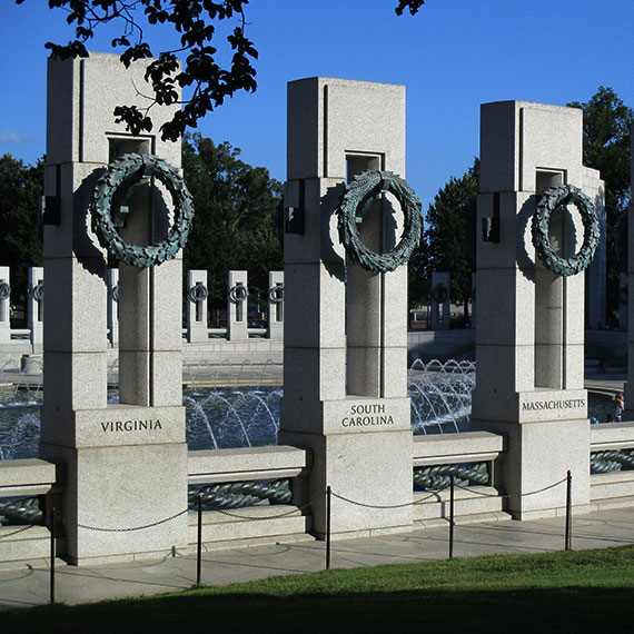 National WWII Memorial at Washington, District of Columbia
