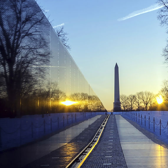 The National Mall of Washington, District of Columbia