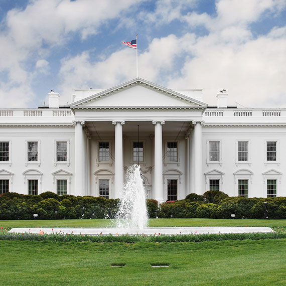 The White House of Washington, District of Columbia