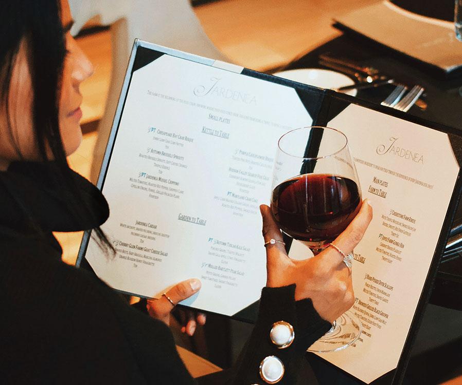 menus in Melrose Georgetown, Washington