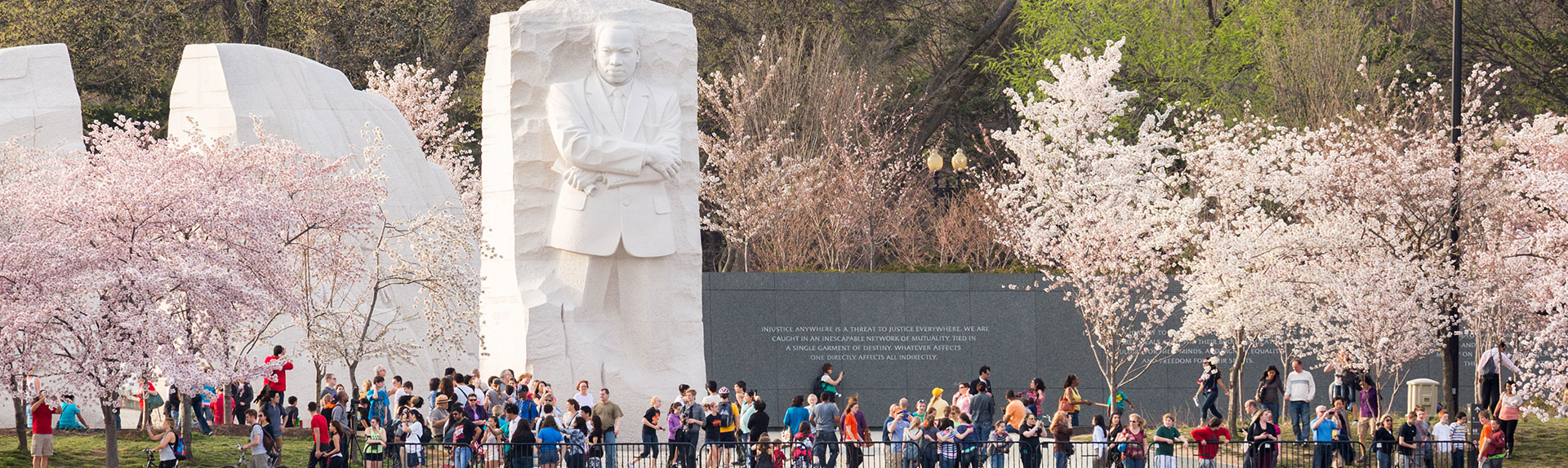 MLK Memorial in Washington, District of Columbia