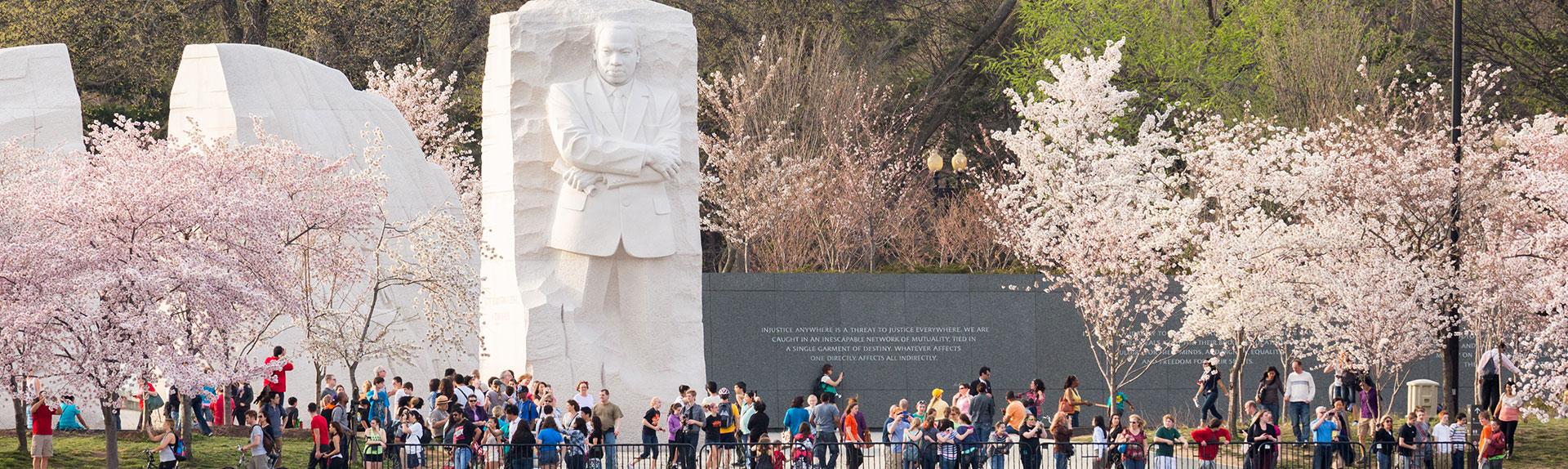 MLK Memorial in Washington, District of Columbia