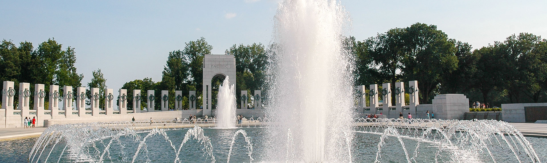 National WWII Memorial in Washington, District of Columbia